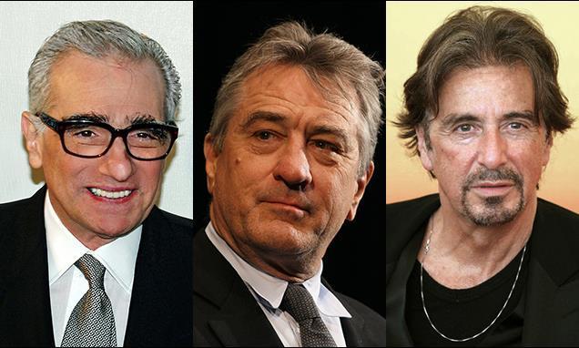 Martin Scorsese Robert De Niro Al Pacino
